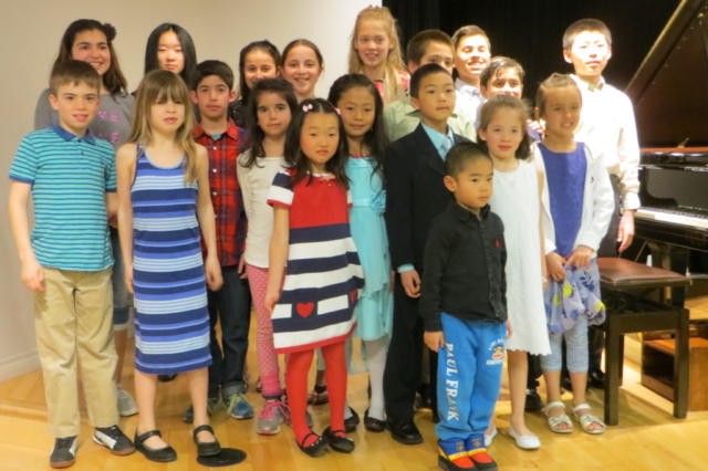 Concert de graduation de piano – le 17 avril 2016