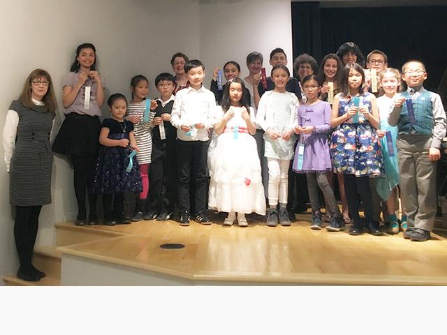 Concert de graduation de piano 2018